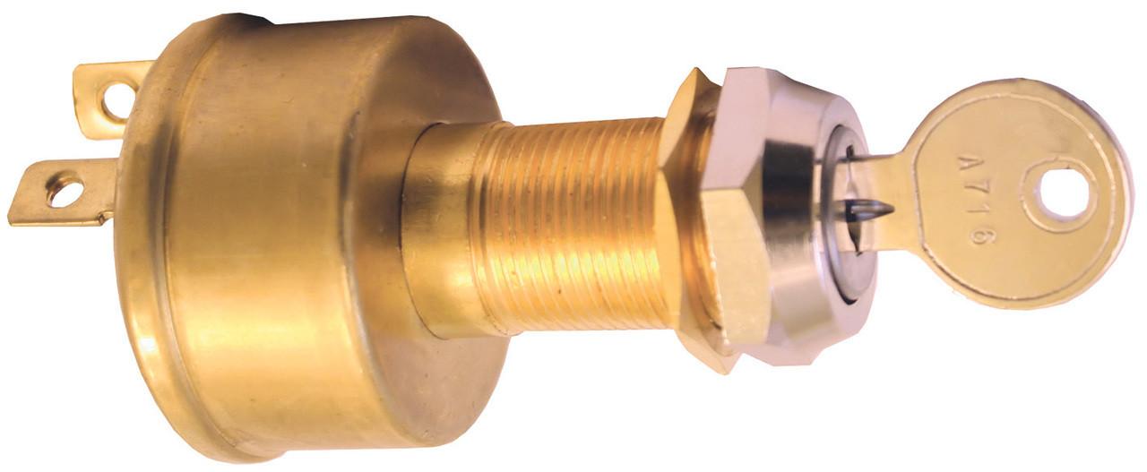 Switch -Ignition Brass12v