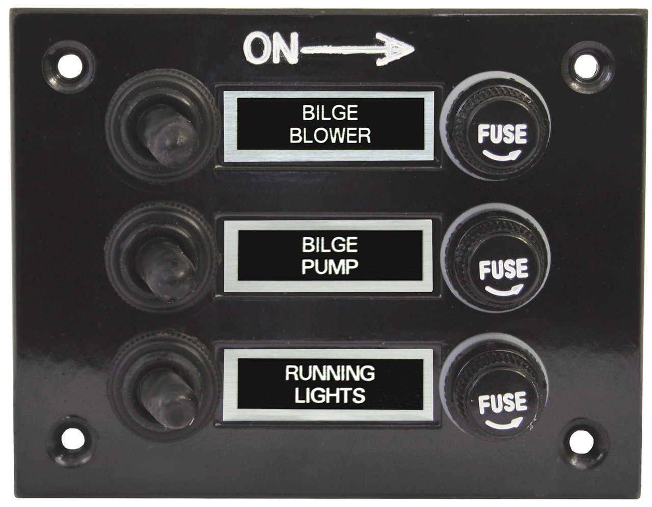 Switch Panel W/Boots 3 Sw