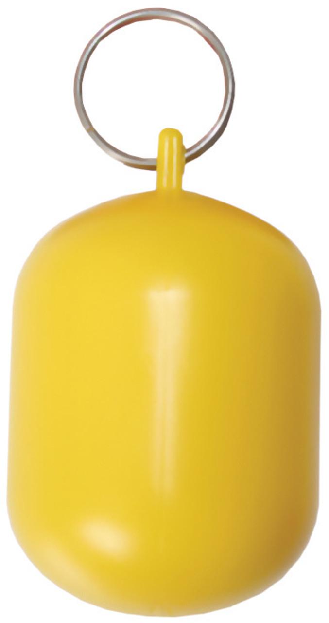 Key Ring -Yellow Floating