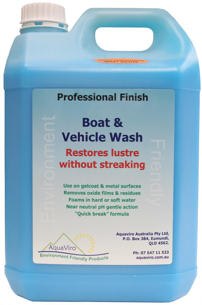 Aquaviro Boat Wash 5litre
