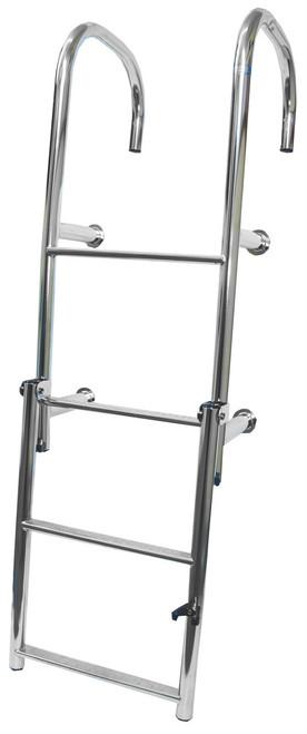 Manta Ladder S/S 4 Rung Step Thru Straight