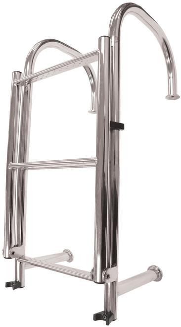 Manta Ladder S/S 4 Step Angled
