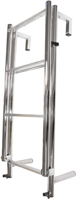 Manta Ladder S/S 6 Rung Toe-Rail