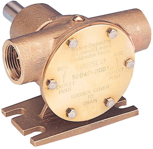 "Pump - Bronze Flexible Impeller Pump 3/4"" BSP"