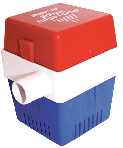 Bilge Pump - 'Rule' 800GPH 12v Square Base