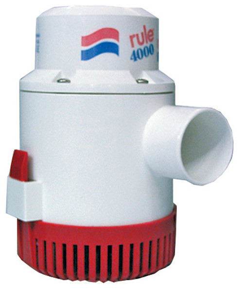 Rule 4000 GPH Bilge Pump 12v