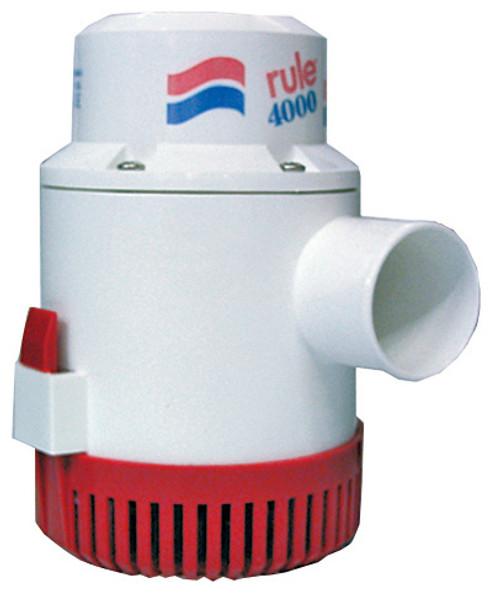 Rule 4000 GPH Bilge Pump 24v