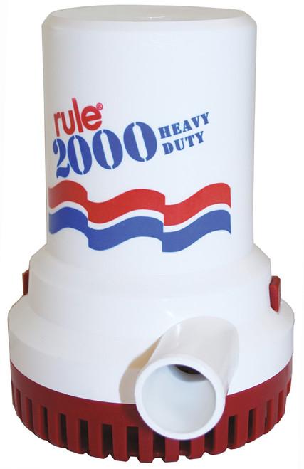 Bilge Pump 'Rule' 2000GPH 24v