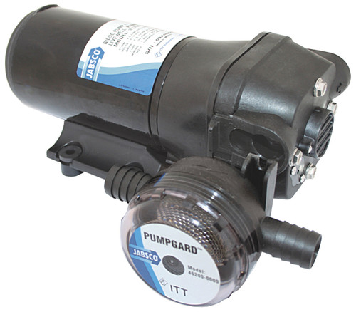Jabsco ParMax 4 Bilge/Livewell/Diesel Pump 12v