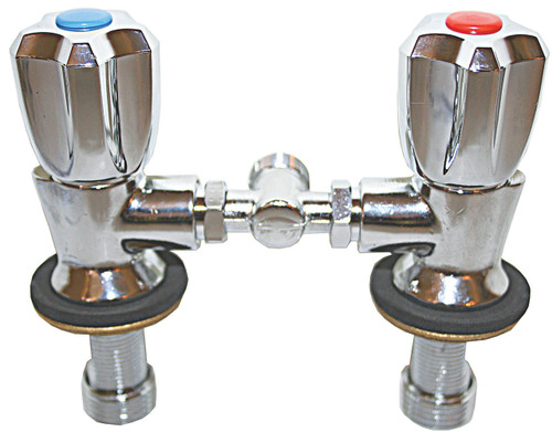 Twin Tap Mixer Only