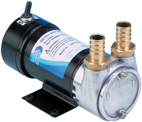 Pump - Fuel Transfer Vane Pump 35Litres 24v