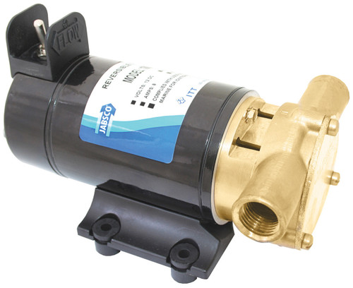 Pump - 'Reversible Vane Puppy' Rotaray Vane Pump 12v