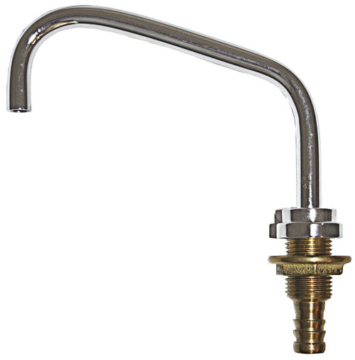 Fynspray Galley Faucet - C/P Brass