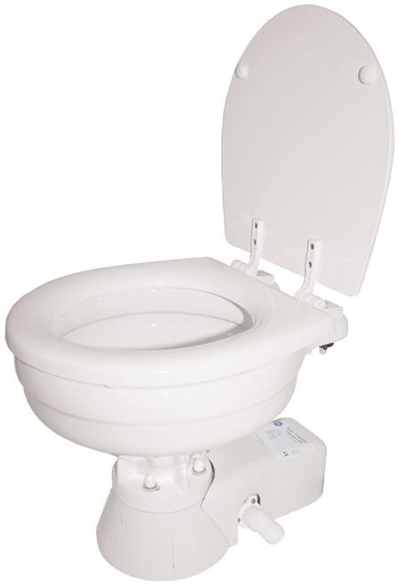 Toilet - Jabsco Quiet Flush Standard Bowl 12v Salt Water
