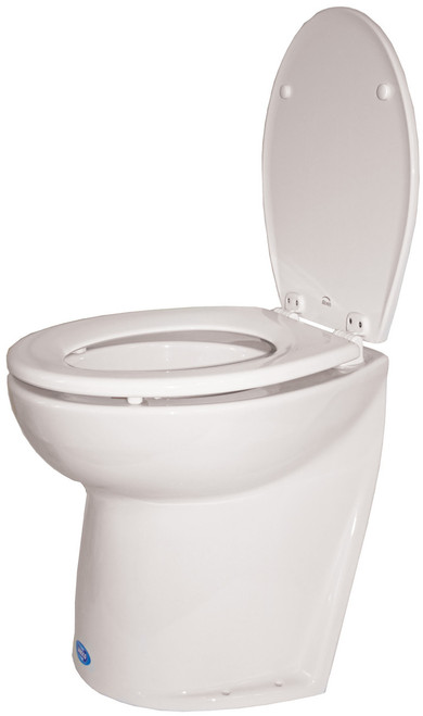 Toilet - Jabsco Silent Flush Slanted Back 24v Salt Water