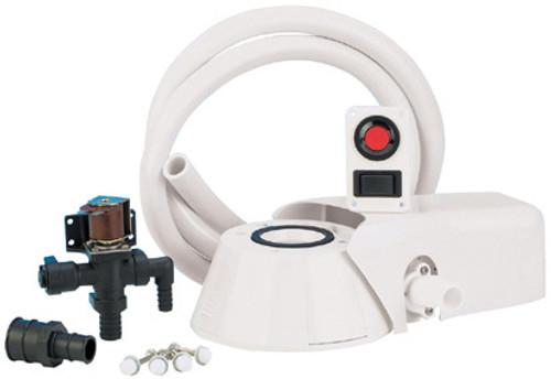 Toilet Converter Kit to Quiet Flush 12v Fresh Water