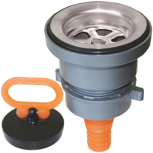 Sink Waste&Plug Strt 25mm