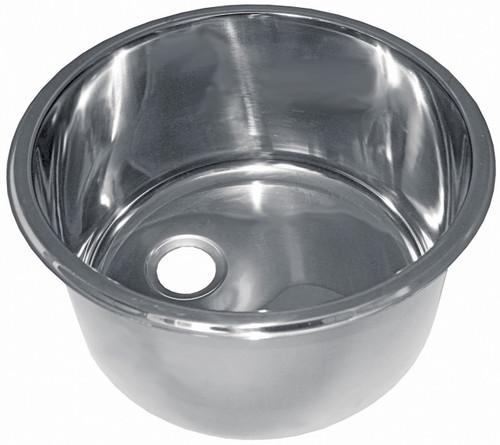 Sink - Stainless Steel Round Cylinder 300mm x 180mm