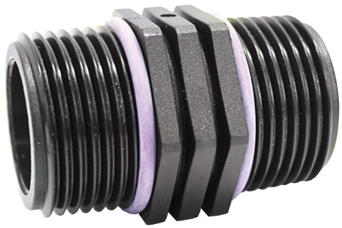 Hex Nipple M-M BSP3/4x1/2