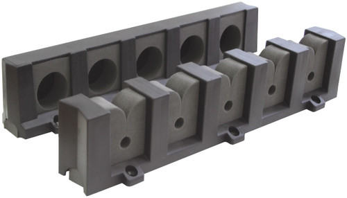 Rod Storage Racks - 5 x Rods Vertical Mounting