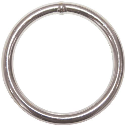 Round Ring S/S 4 x 25mm