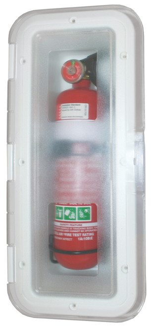 Fire Ext Box 1kg Clearlid