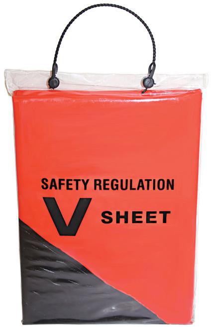 Safety V Sheet - Deluxe