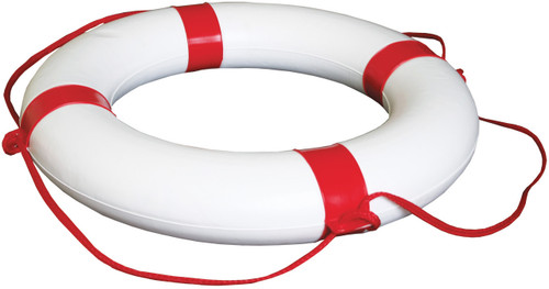 Lifebuoy White/Red 650mm