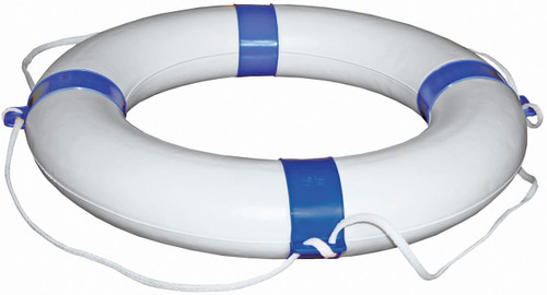 Lifebouy White/Blue 650mm
