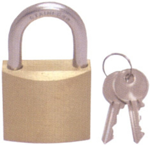 Padlock -Brass Body with Stainless Steel Shackle 30mm