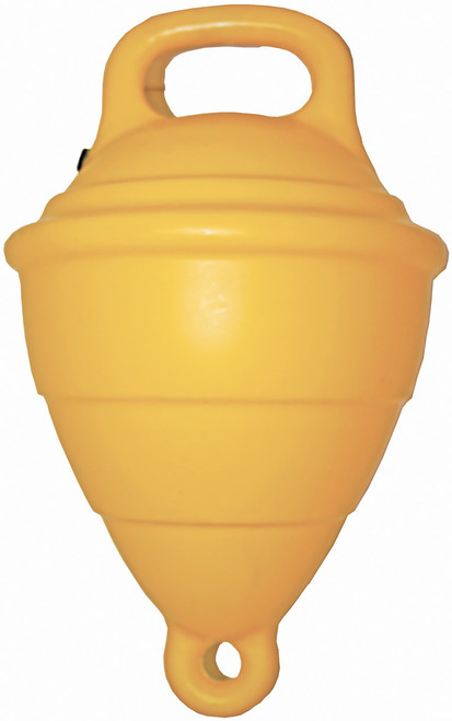 "Filled 10"""" Mooring Buoy - Yellow"