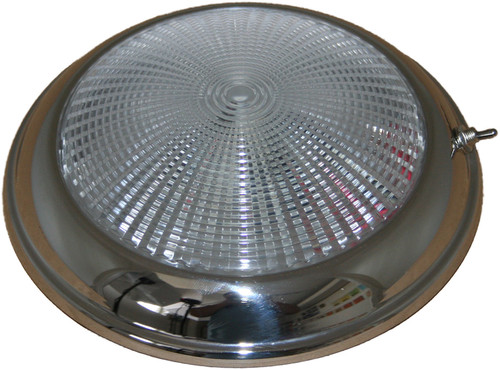 Low Profile Dome Light S/S - 12v