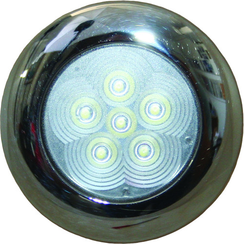 Flush Interior LED Light S/S - 12v