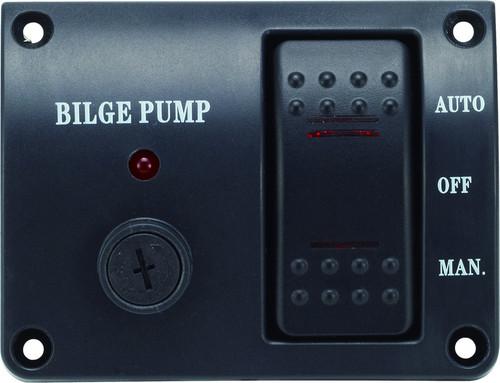 Bilge Pump Control Panel - 12v