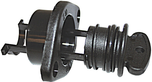 TENOB Medium Drain Plug - Black