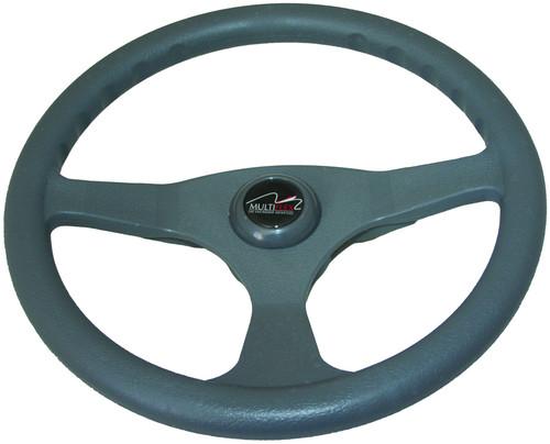 "Multiflex Sports Wheel - ""Alpha"" 3 Spoke - Grey"