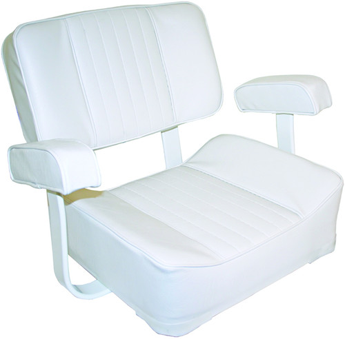 Deluxe Captain's Chair - White