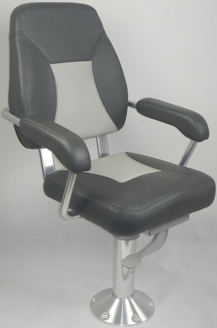 Mini-Mojo Deluxe Helm Seat - Charcoal