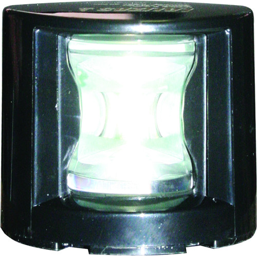 'FOS 12' LEDStern Light - Black Horizontal mount