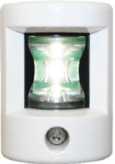 'FOS 12' LEDStern Light - White Horizontal mount