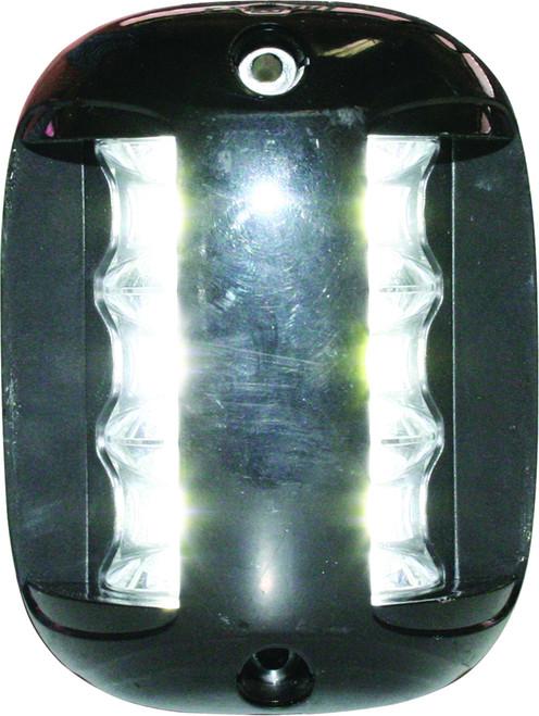 'FOS 20' LED Masthead Light - Black Vertical Mount