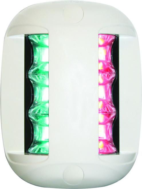'FOS 20' LED Bi-Colour Light - White Vertical Mount
