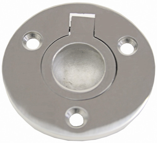 Round Flush Pull Ring Stainless Steel 52mm