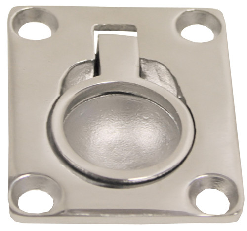 Flush Pull Cast Stainless Steel 48mm x 38mm