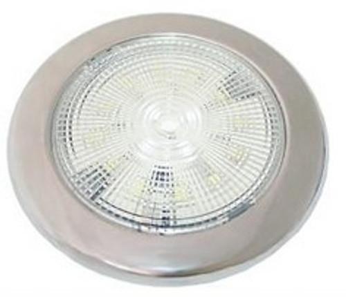 LED Slimline Red/White Light S/S