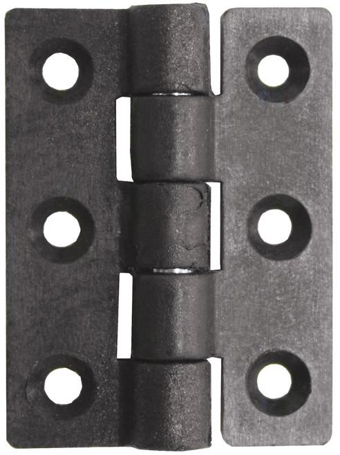 Nylon Butt Hinge - Black 75mm