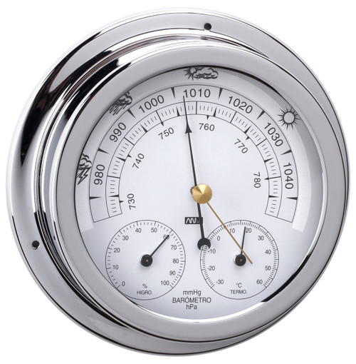 Barometer Triple Combo - 120mm Chrome