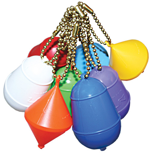 Floating Keyrings - Assorted Colours/Shapes