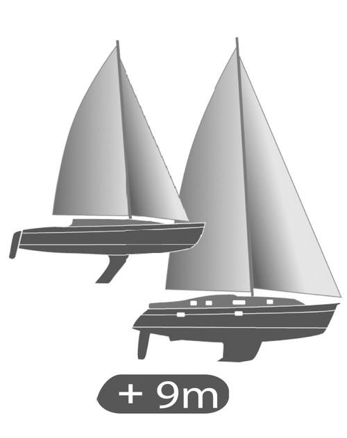 Olympic 135 Sailboat Compass Black, Flush Mount, Black Card