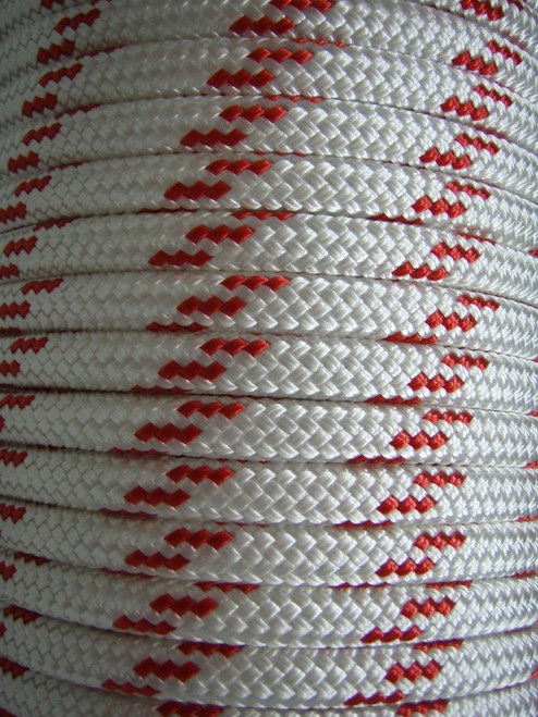 Rope - Double Braid Red Fleck